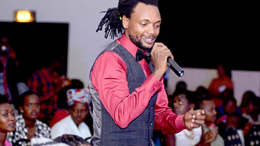 Ladies' man Jamal is known for his songs which address women issues. File.
