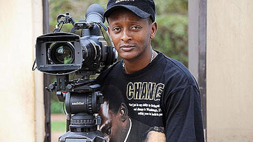 Eric Kabera, the founder and president of Rwanda Cinema Centre