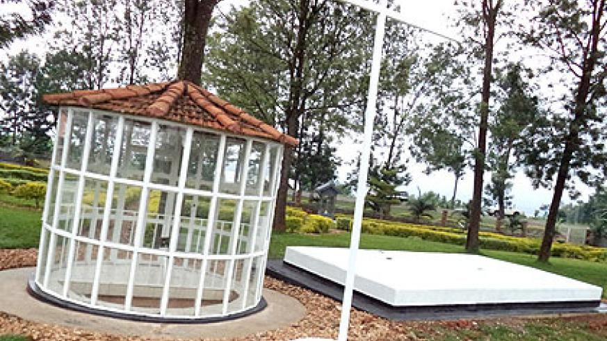 Kiziguro Memorial Site, in Gatsibo Sector, stands in honour of those who were killed in the area. The majority of the Genocide victims fell to machinations of Gatete. (Jean-Pierre ....