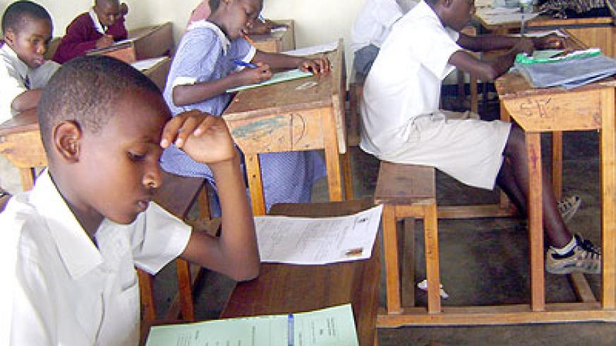 Many students today can hardly write a proper English sentence even during exams. This affects their performance. (Timothy Kisambira)