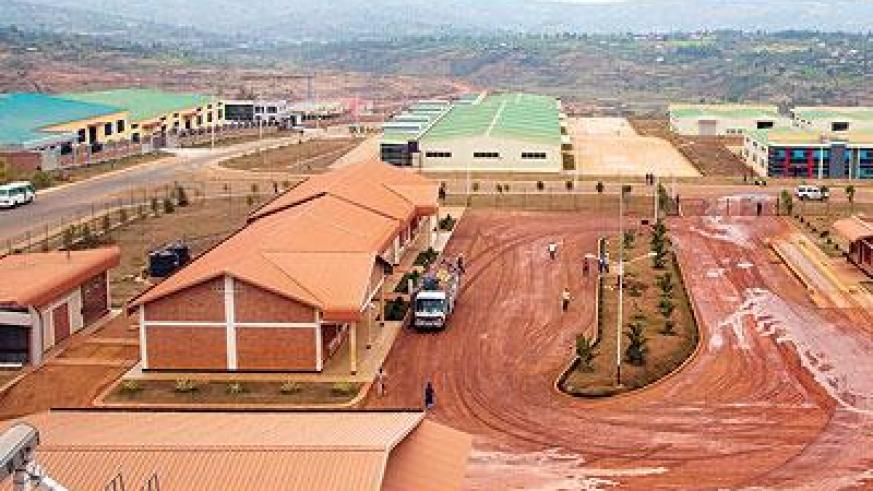 Industries are setting up at the Special economic zone to boost local manufacturing. (Timothy Kisambira)