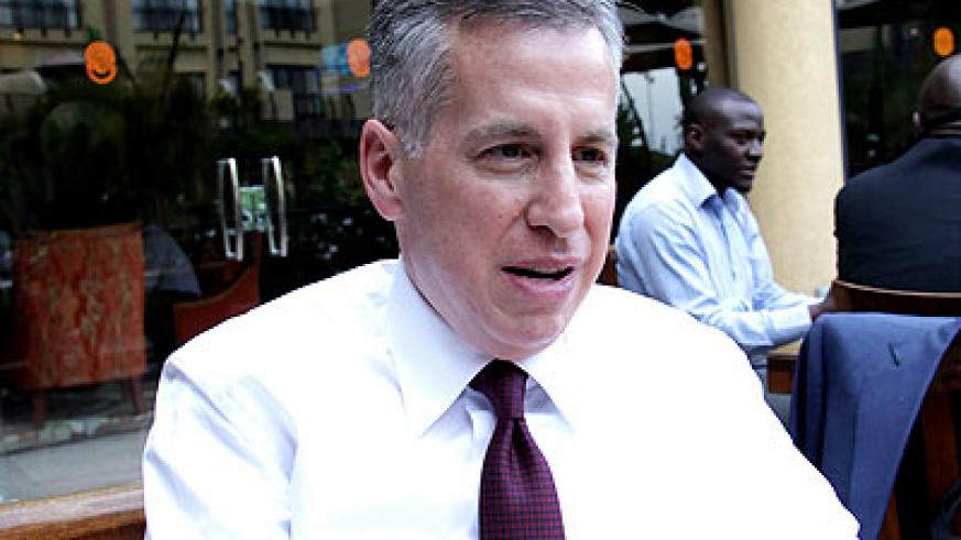 Holtzman believes the environment is conducive for stock market to thrive. (Timothy Kisambira)