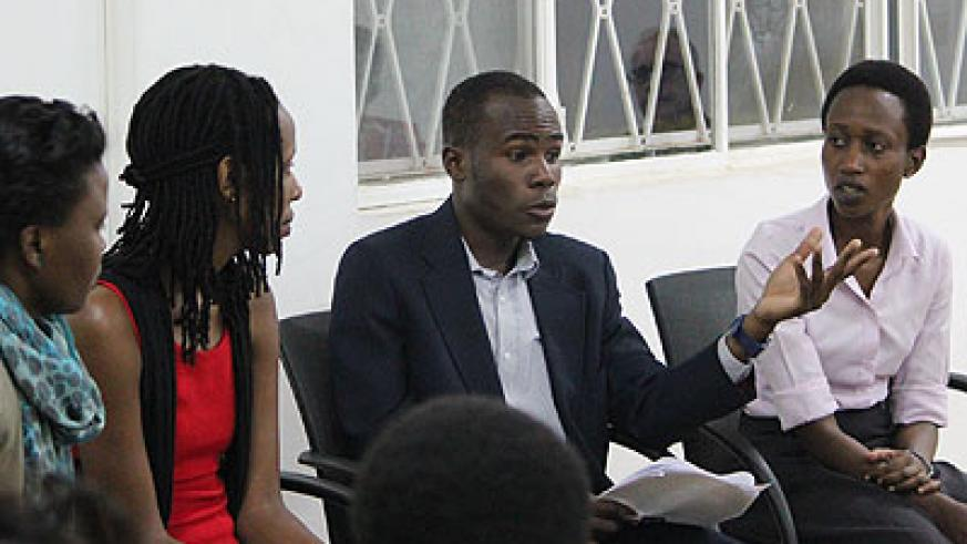 At a recent debate organised by Goethe-Institute, a panel of judges claimed that Women are underrepresented in creative arts. (Joseph Oindo)