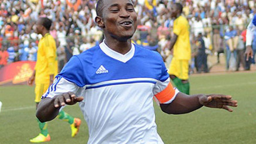 Rayon Sports captain Fuadi Ndayisenga believes the reigning champions are best-placed to win a second successive league title. (Timothy Kisambira)
