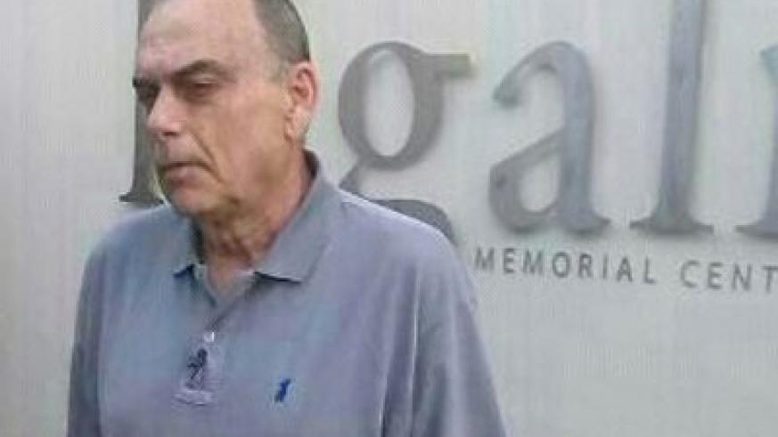 Avram Grant at the Kigali Genocide Memorial Centre on Thursday. (Courtesy)