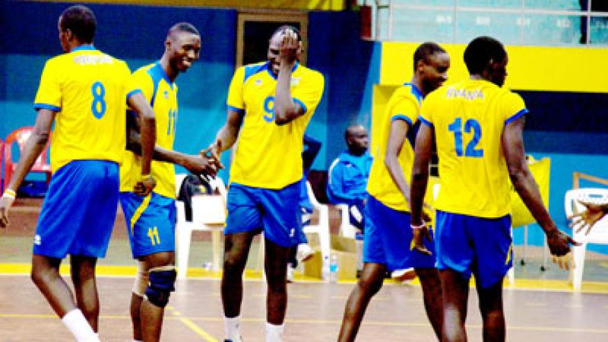 Volleyball has became one of the most popular sports in Rwanda over the past 20 years. (Timothy Kisambira)