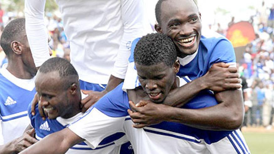 Rayon Sports need to win all their remaining three league matches to retain the title. (File)