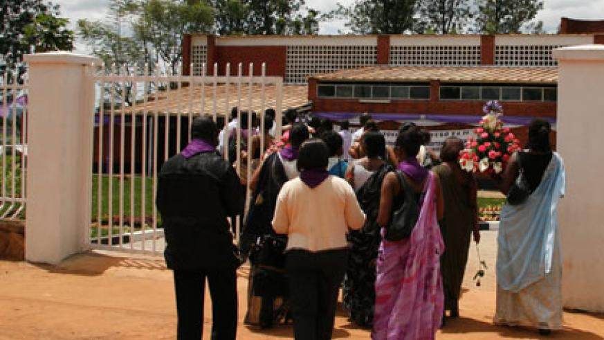 Nyamata Genocide Memorial Centre in Bugesera District is a site of chilling history of man's savage nature. File.