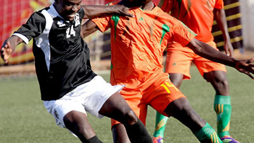 Striker Michel Ndahinduka will be key for APR as they seek to get past AS Muhanga in Peace Cup knock out stage. T. Kisambira
