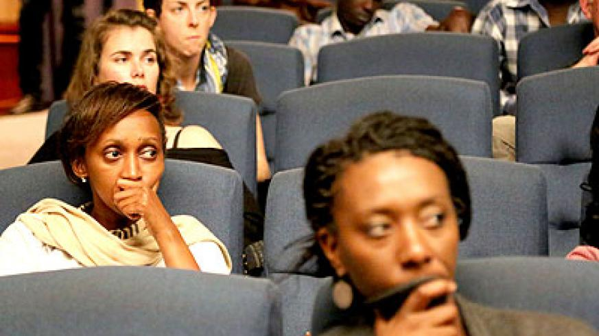 A cross section of people who attended the premiering of Rwanda 94. (Courtesy)