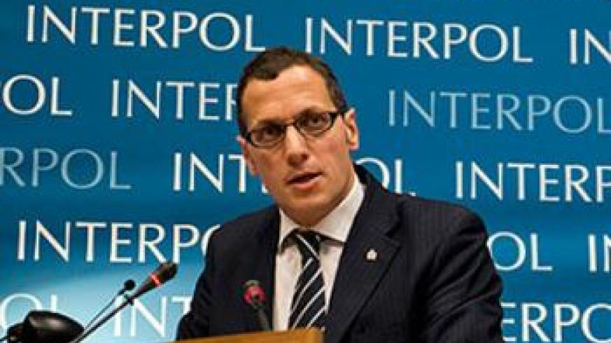 Stephano Carvelli believes Interpol has done its best to hunt down criminals who commit heinous crimes such as genocide and crimes against humanity. File.