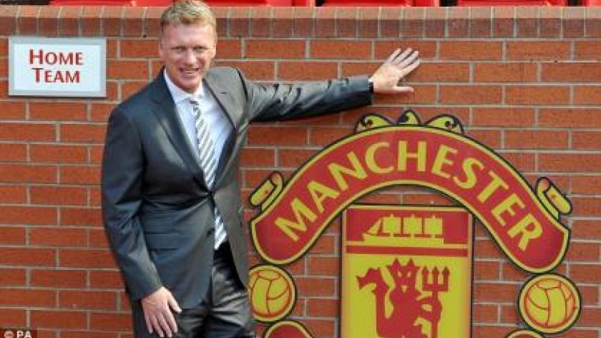 Moyes started work at Old Trafford on July 1 last summer, having been announced as Ferguson's replacement in May. (Internet photo)