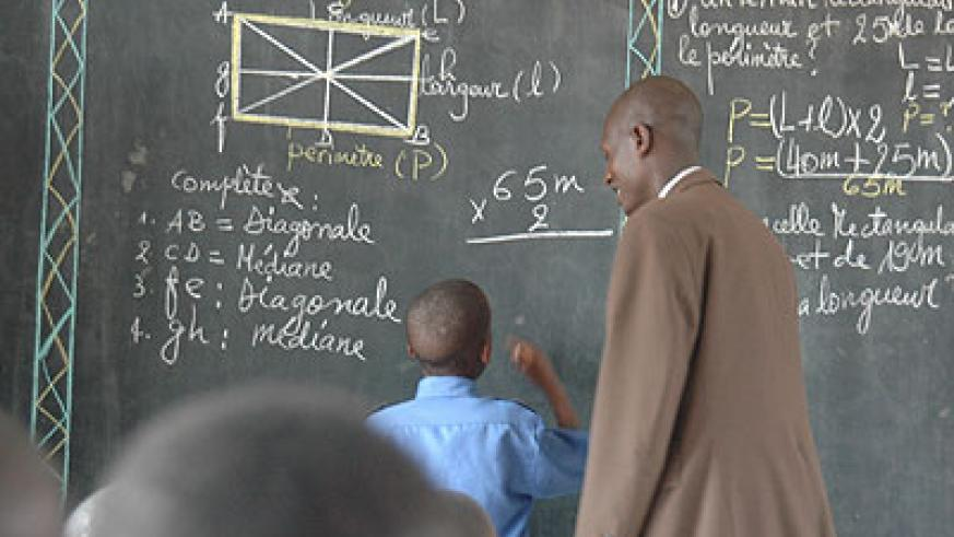 Maths is best learnt by doing, the more calculations one does the better they become.. /Timothy Kisambira