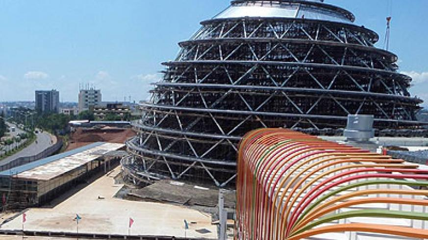 The Kigali Convention Centre in Kimihurura, is one of the major development projects that the government has embarked on in the recent past. Net photo.