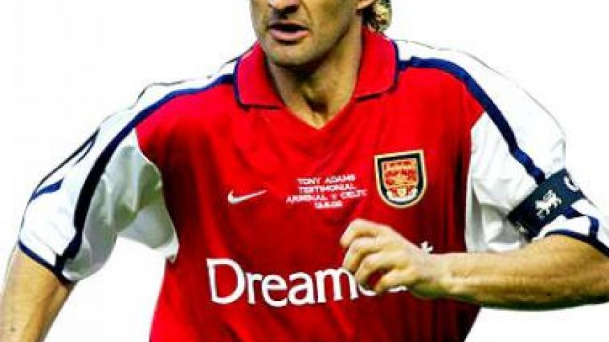 Former Arsenal captain Tony Adams is expected to arrive in Kigali on Thursday for a four-day official visit on the invitation of Airtel Rwanda. Net photo