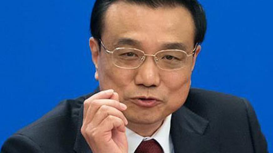Chinese Premier  Li Keqiang. He said Africa has the biggest potential in human resources. Net photo.