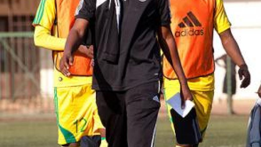 Coach Andre Cassa Mbungo will work with whoever is appointed head coach to steer Amavubi ahead in the upcoming 2015 Afcon qualifiers. T. Kisambira.
