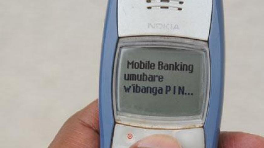 Growing use of mobile money platforms is due to rising mobile phone penetration in the country. (File)