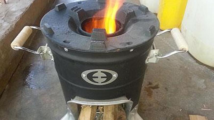 The M 5000 firewood stove. (Moses Opobo)