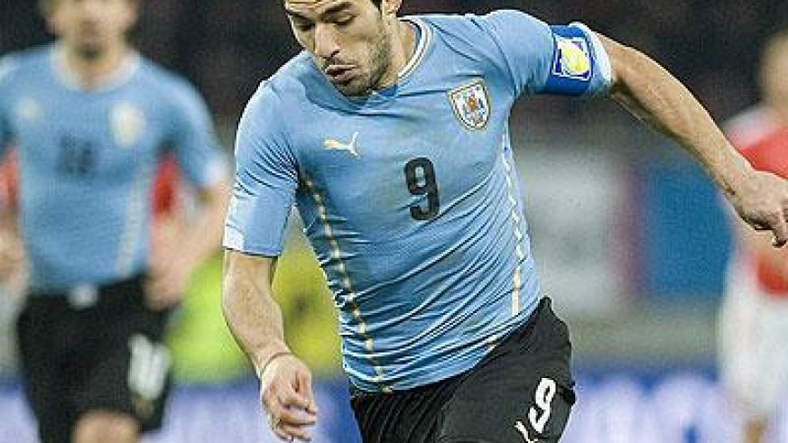 The World Cup will not be the same without fully fit superstars like Uruguay striker and captain Luis Suarez. (Internet photo)