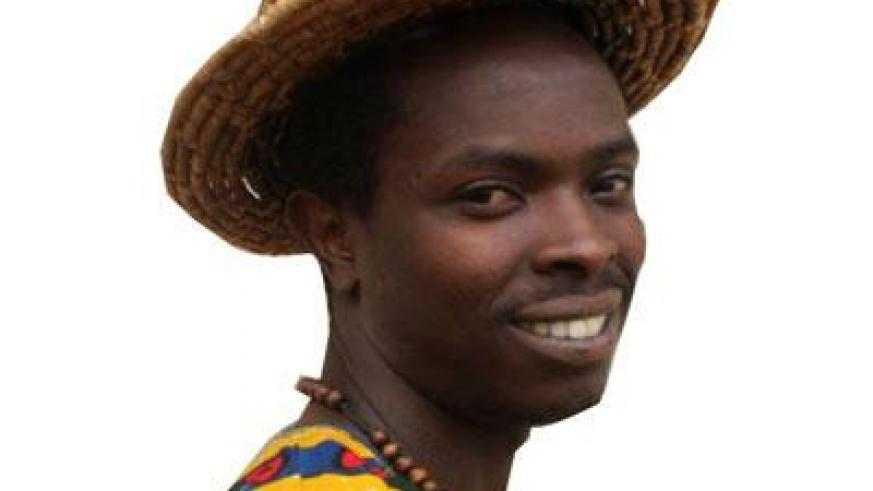 Kibuza sings about real life stories. (Moses Opobo)
