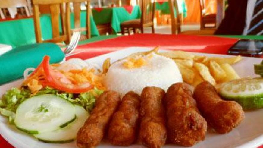You can use your mobile device to order for such food. (File)