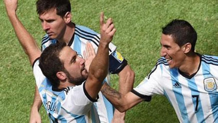 Gonzalo Higuain strike secured a win over Belgium to book a semi final slot. (Internet photo)