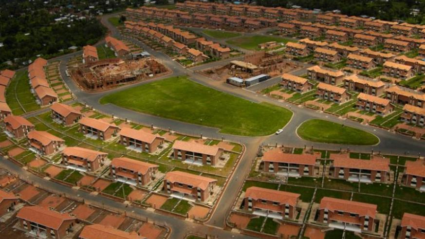 One of the up-market housing estates in Kigali. The city lacks affordable houses. (File)