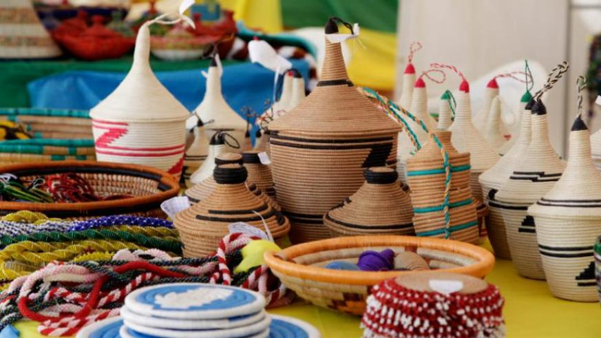 Agaseke Baskets are some of the products that Rwanda exports to US. (File)