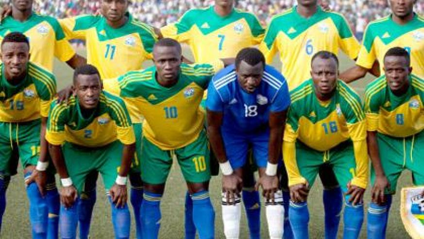 Amavubi will play Nigeria in Calabar in the first Afcon 2015 final round qualifier after CAF rejected Rwanda's request to move the game to another country. (Timothy Kisambira)