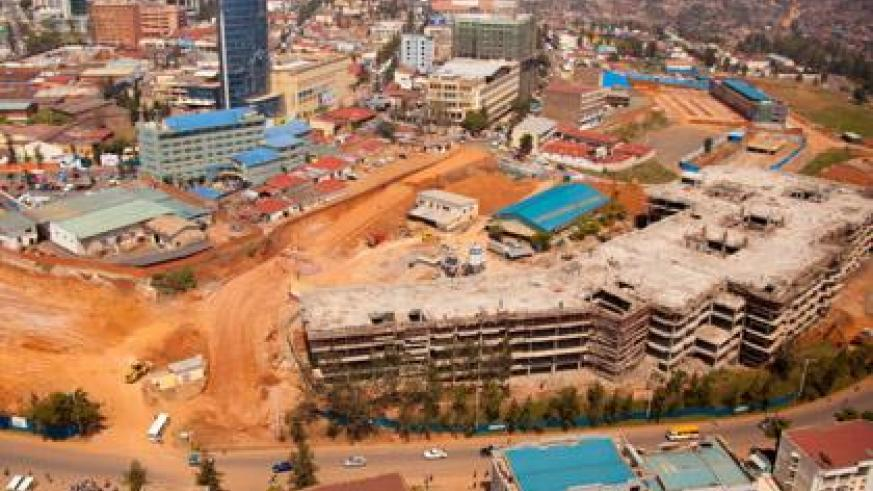 Expanded Kigali City. Good infrastructure and big city population is being seen as the next drivers of economic development. (Timothy Kisambira)