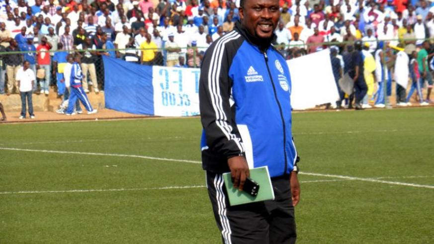 Bizimungu says he wants Kiyovu to use more home-grown players in the coming season. (S. Ngendahimana)