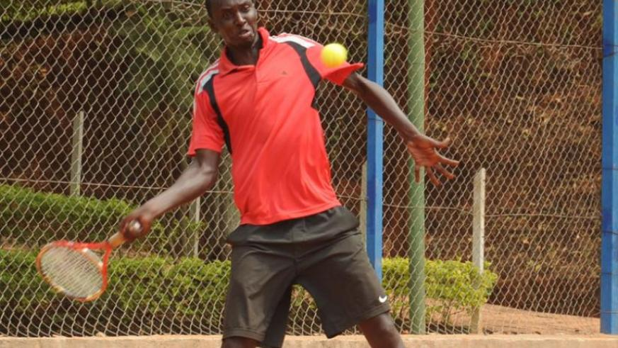 Rwanda's top seed Jean Claude Gasigwa  is seeded number three at the tournament. (File photo)