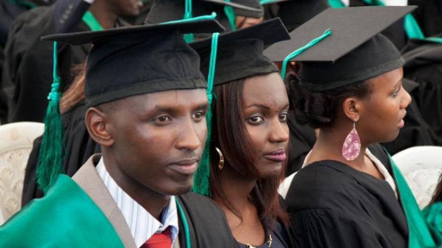 Graduates from UR's College of Agriculture, Animal Sciences & Veterinary Medicine at the graduation ceremony last August. (File)