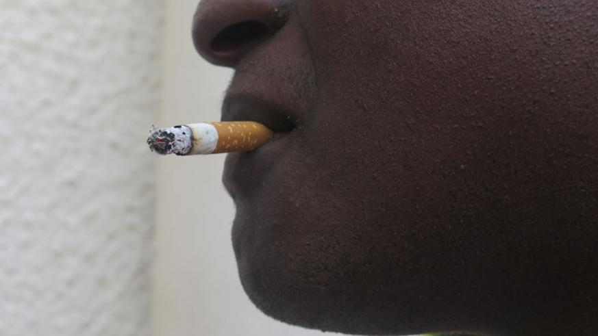 Smoking exposes young people to health risks.