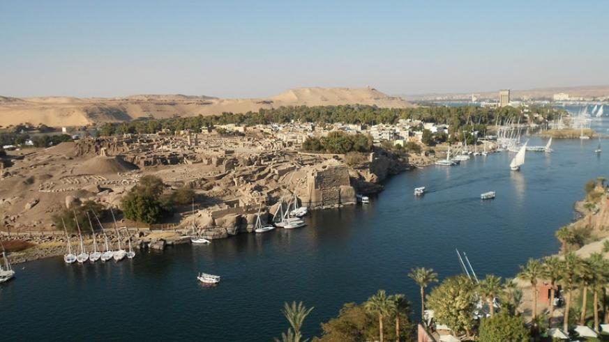 An aerial view of the Nile River. (Internet photo)