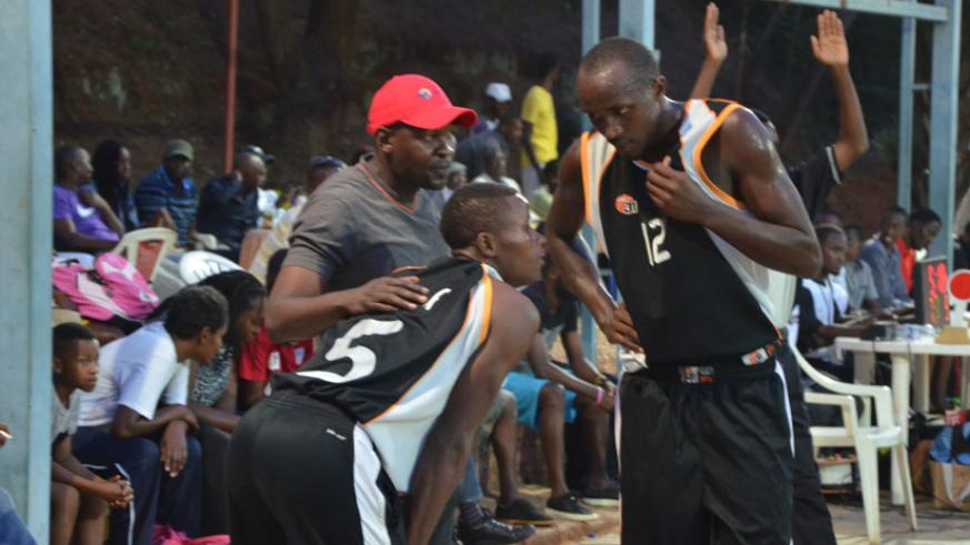 Owuor (in cap) said he was not impressed with his team's performance following a 72-71 win over UGB. (File)