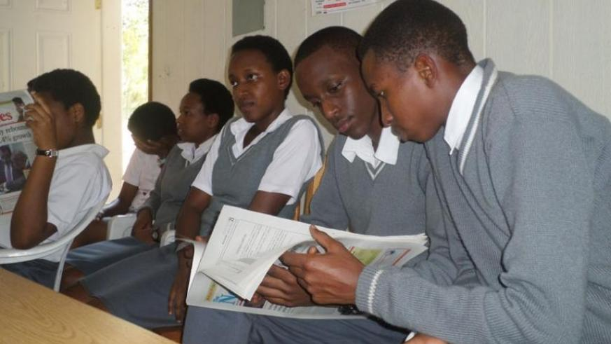 Students from good backgrounds tend to spend more time doing constructive things at school. (Solomon Asaba)