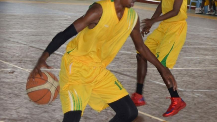 IPRC-South captain Bienvenue Niyonsaba will be hoping to lead the Huye-based club to their first league title. (File)