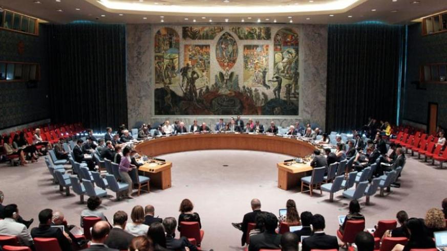 The Security Council Chamber during a past meeting. (Net photo)