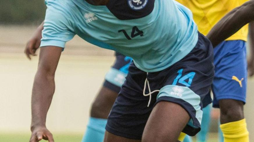 Police FC will rely on striker Dany Usengimana, who missed the game against Sunrise FC through suspension. (File)