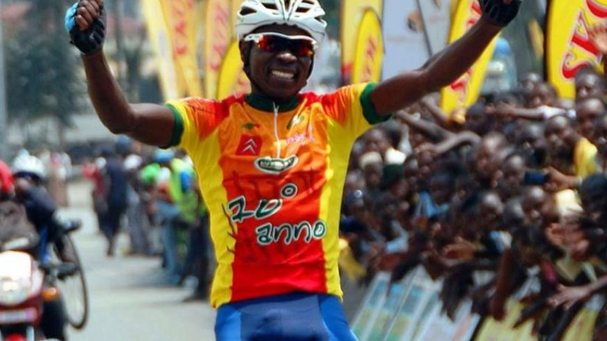 Jean-Bosco Nsengimana won the inaugural Rwanda Cycling Cup but may not defend his crown after joining Germany-based Bike Aid Team. (File)