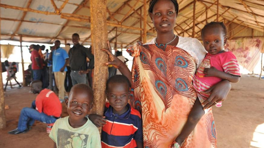 Renewed fighting in South Sudan has caused refugee influx into neighbouring countries. / Internet photo.