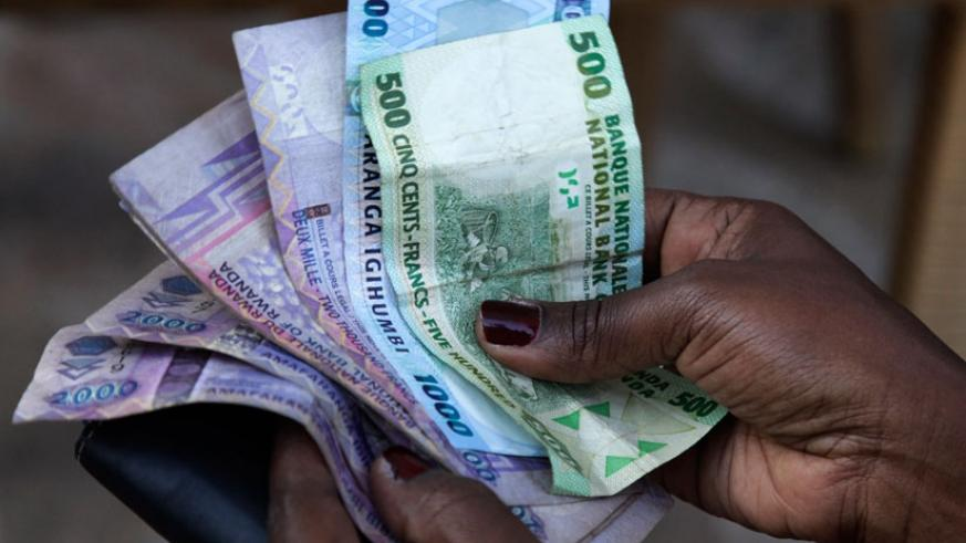 The US Dollar has continued  to appreciate against the Franc despite inflows from the over 3,000 delegates who attended the African Union Summit in Kigali. (File)
