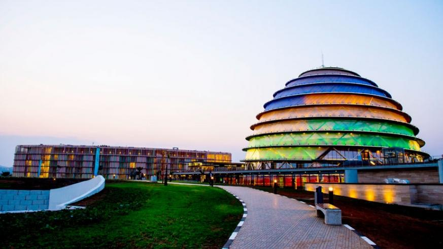 The Kigali Convention Centre where the summit was held. (File photos.)