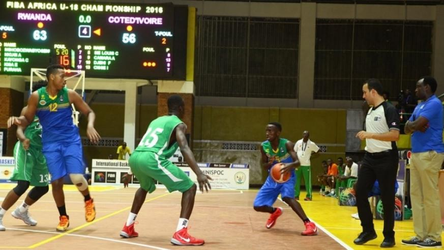 Rwanda registered their second successive win of the FIBA U-18 Africa Championship by defeating Ivory Coast in Group A.