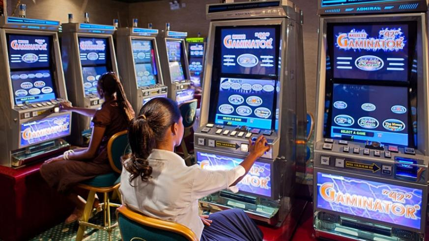Slot gaming machines have been suspended until further notice. (File)