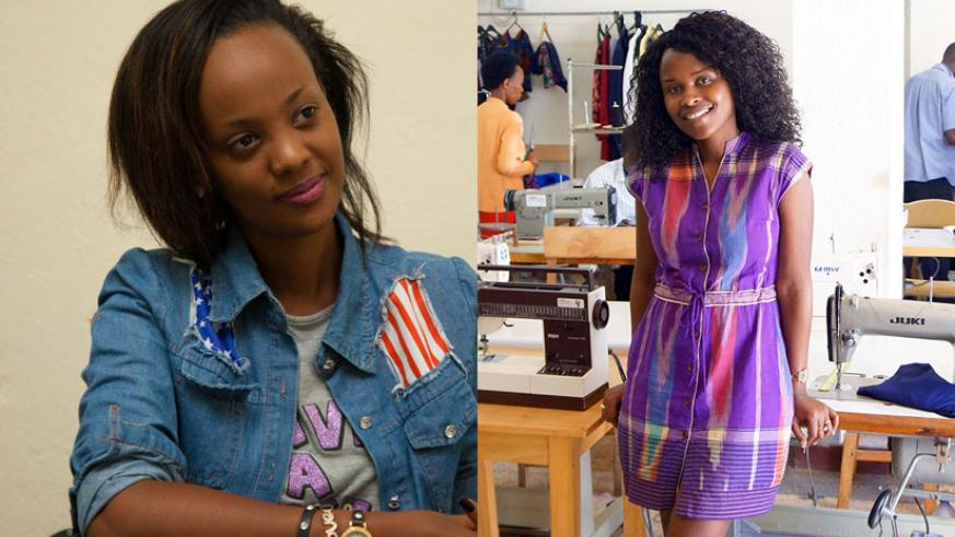 LEFT: Knowless was also nominated for Nigerian Entertainment Awards and AFRIMMA. / Julius Bizimungu. | RIGHT: Joselyne Umutoniwase in her boutique. She was nominated for the 'Entre....