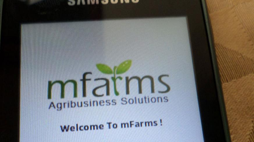 Mfarms is a mobile phone-enabled app for agro-input dealers.(File photo)