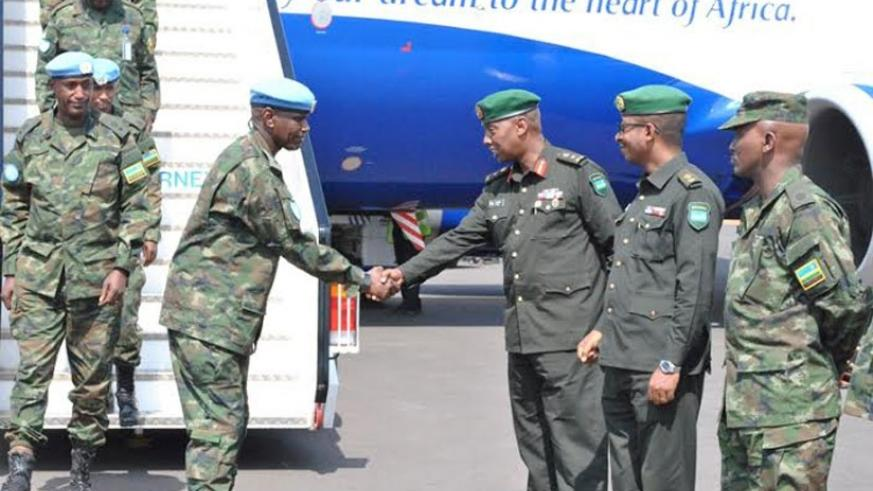 63 specialised medical doctors, yesterday, returned home from the Central Africa Republic (CAR)